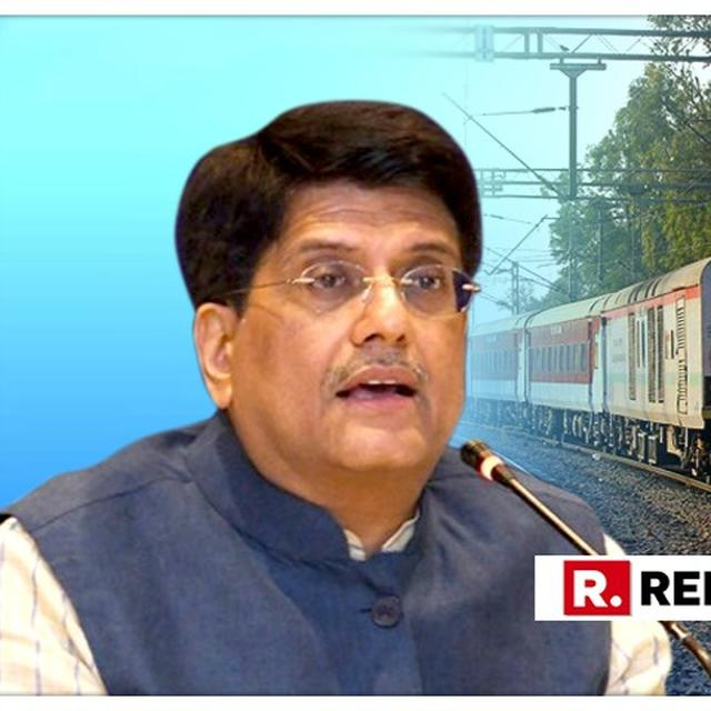 50% OF OVER 9,000 VACANCIES IN INDIAN RAILWAYS WILL BE FOR WOMEN: PIYUSH GOYAL