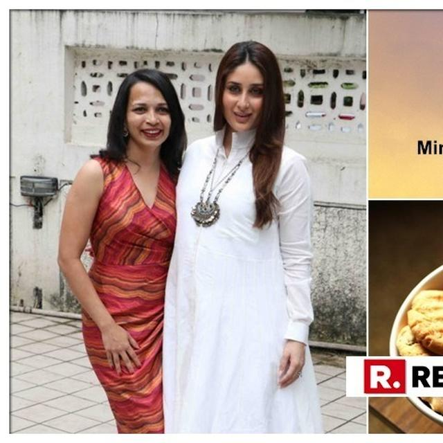 KAREENA KAPOOR KHAN'S DIETICIAN RUJUTA DIWEKAR REACTS ON THE HEALTH MINISTRY'S NEW 'NO COOKIES, BISCUITS WITH CHAI ' NOTE. HERE'S WHAT WILL BE SERVED INSTEAD