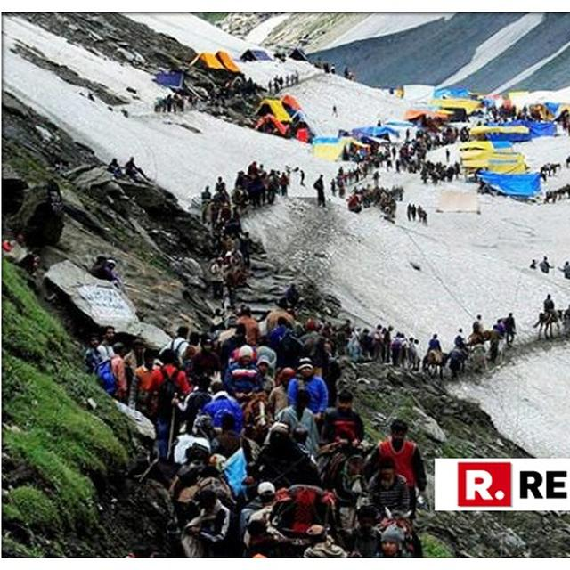 DEVOTEES UPBEAT AS FIRST BATCH OF PILGRIMS LEAVING FOR AMARNATH SHRINE ON JUNE 30