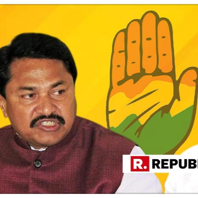 RESIGNATION DRAMA IN CONGRESS CONTINUES, BJP REBEL NANA PATOLE LATEST TO AS KISAN CONGRESS PRESIDENT
