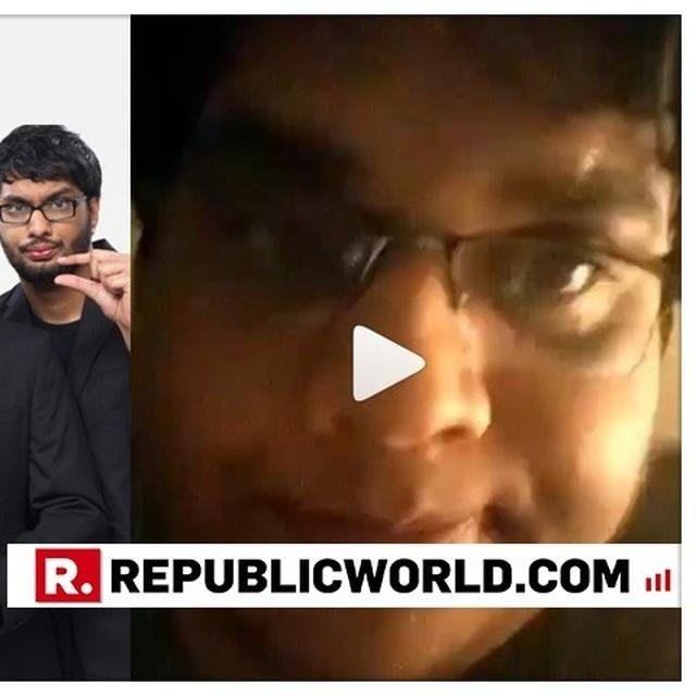 "WATCH: ""I'M A BIT OF A MESS, FEEL PARALYSED"", AIB CO-FOUNDER TANMAY BHATT CHOKES UP WHILE ADDRESSING THE #METOO CONTROVERSY FOR THE FIRST TIME"