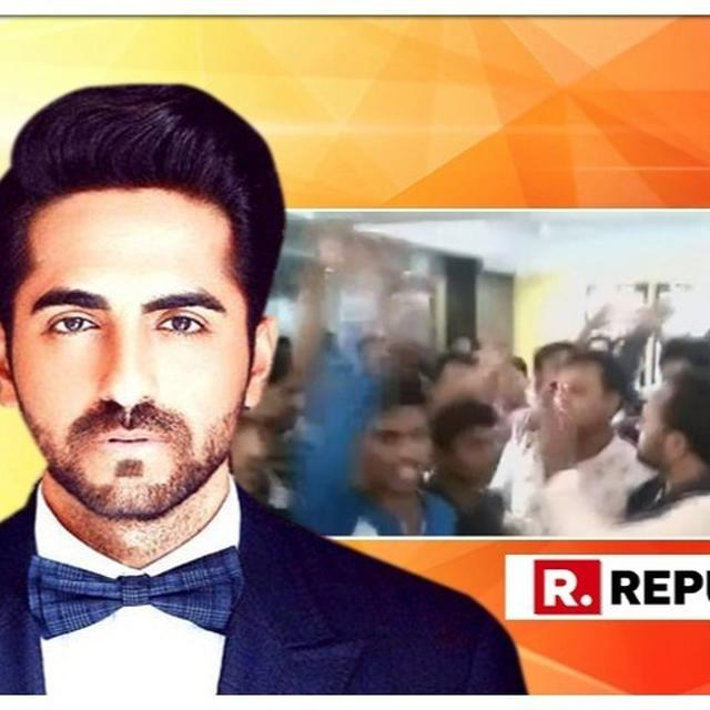 WATCH: CHANDRASHEKHAR AZAD'S BHIM ARMY PROTESTS AGAINST AYUSHMANN KHURRANA-STARRER ARTICLE 15'S SCREENING BEING HALTED IN PATNA, FACES POLICE LATHICHARGE