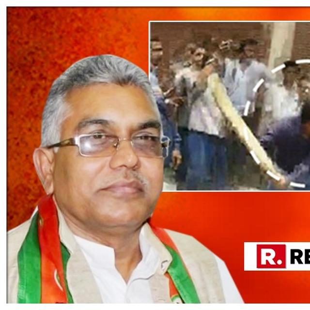 WATCH: 'HE IS A SHANT LADKA,' CLAIMS BJP LEADER DILIP GHOSH DEFENDING BAT-WIELDING AKASH VIJAYVARGIYA OVER HIS SHAMEFUL ATTACK ON CIVIC OFFICERS IN INDORE