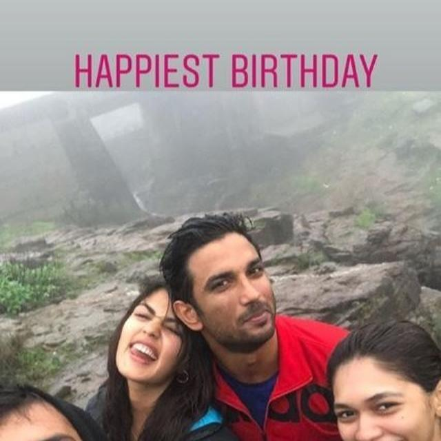 IS IT OFFICIAL? RHEA CHAKRABORTY SHARES FIRST PICTURE WITH RUMOURED BEAU SUSHANT SINGH RAJPUT AS SHE ENJOYS HER 'HAPPIEST BIRTHDAY'