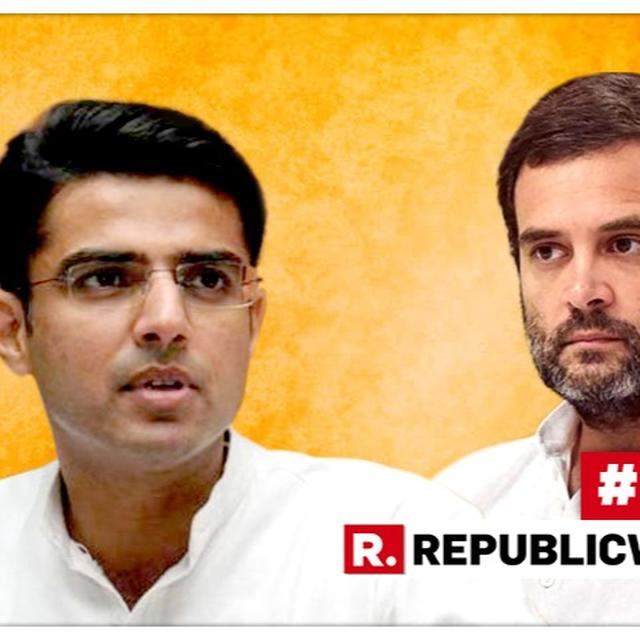 RAHUL GANDHI RESIGNS | SACHIN PILOT SAYS 'ALL OF US WANT RAHUL GANDHI TO TAKE RESIGNATION BACK,' AMID MURMURS OF HIS OWN ELEVATION TO CONGRESS PRESIDENT
