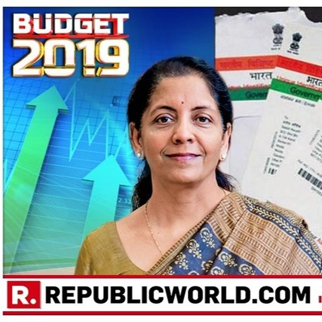 UNION BUDGET 2019: BIG RELIEF FOR NRIS SEEKING AADHAAR CARDS, NIRMALA SITHARAMAN PROPOSES DOING AWAY WITH 180-DAY WAIT FOR INDIAN PASSPORT HOLDERS
