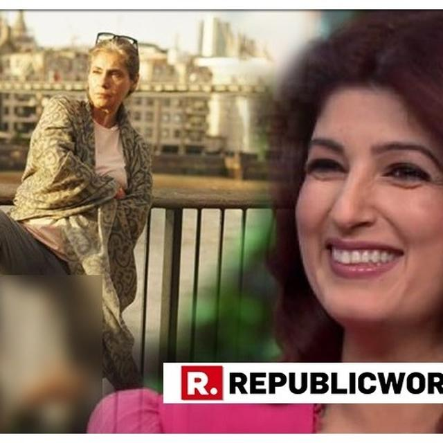 'TWINKLE KHANNA HELP!', SAYS THIS DIRECTOR AFTER DIMPLE KAPADIA 'TORTURES' HIM. HERE'S HOW MRS FUNNYBONES REACTED