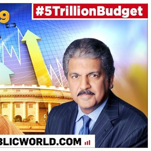 UNION BUDGET 2019: ANAND MAHINDRA GOES ON ANALOGY SPREE, PRAISES NIRMALA SITHARAMAN'S BUDGET AS A 'STEADY SINGLES' RATHER THAN 'BOUNDARIES'