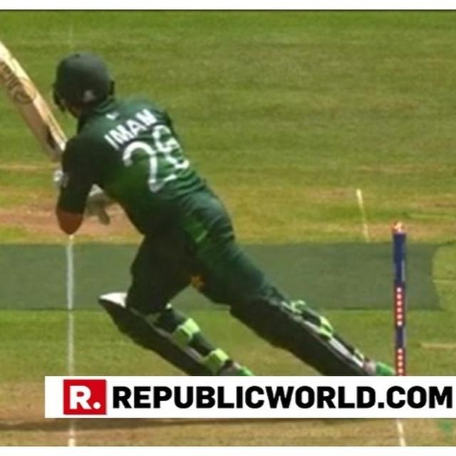 WORLD CUP 2019 | IMAM-UL-HAQ HIT-WICKET AFTER SCORING CENTURY, INZY'S LEGACY LIVES ON SAY NETIZENS