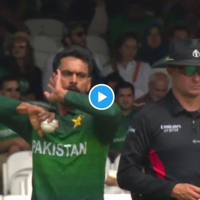 WORLD CUP: PAKISTAN FANS BLAST ICC FOR MOCKING MOHAMMAD HAFEEZ'S VIRAL LOOSE BALL