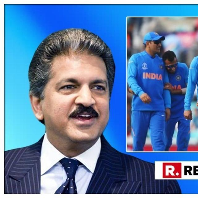 WORLD CUP: SURPRISED BY QUICK ANSWERS TO 'MEN IN BLUE' RIDDLE ON YUZVENDRA CHAHAL, ANAND MAHINDRA RAISES DIFFICULTY LEVEL; CAN YOU ANSWER HIS LATEST?