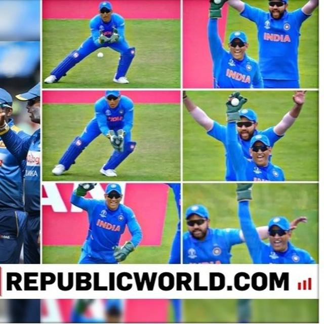 WORLD CUP 2019 | 'IT'S THALA DAY, FLYING WICKETKEEPER': NETIZENS CELEBRATE AS MS DHONI AFFECTS DISMISSAL OF FIRST FOUR SRI LANKA BATSMAN IN INDIA'S MATCH