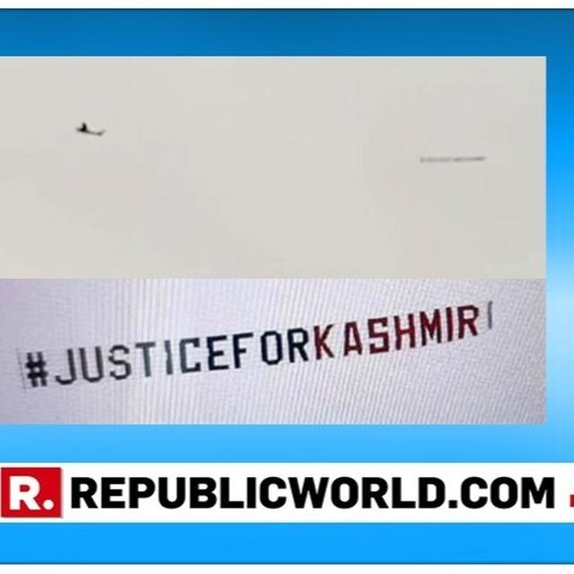 WORLD CUP 2019: ICC ISSUES STATEMENT AFTER PROVOCATIVE BANNER FLOWN OVER INDIA VS SRI LANKA MATCH VENUE