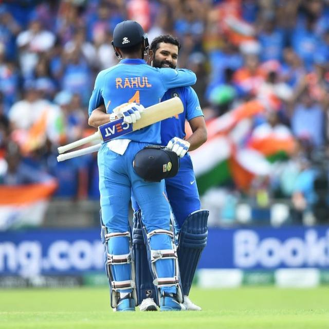 ROHIT SHARMA SETS WORLD CUP RECORD: 'IT DOESN'T GET BIGGER THAN THIS', NETIZENS HAIL 'HITMAN' AFTER SCORING THIRD TON IN A ROW