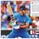 'ONE SUN. ONE MOON. ONE MS': WISHES GALORE FROM CRICKETING FRATERNITY AS MS DHONI TURNS 38