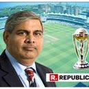 FORMER LEGEND AND NOT ICC CHAIRMAN SHASHANK MANOHAR TO PRESENT THE WORLD CUP TROPHY THIS YEAR? DETAILS HERE