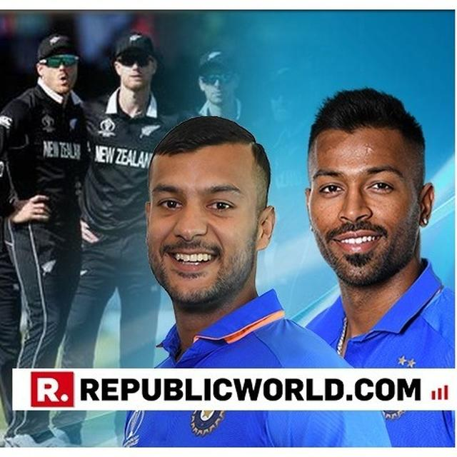 WORLD CUP: WHILE HARDIK PANDYA 'CAN'T WAIT' FOR INDIA VS NEW ZEALAND MATCH, HIS 'RECOVERY SESSION' WITH MAYANK AGARWAL CAN'T BE MISSED!