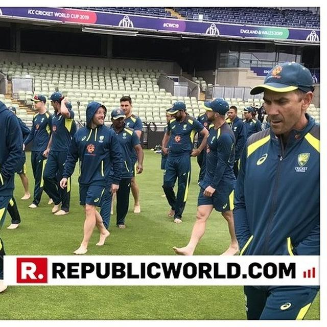 WORLD CUP 2019 | AUSTRALIA'S STARS GO BAREFOOT FOR A BONDING SESSION AHEAD OF THEIR SEMI-FINAL CLASH AGAINST ENGLAND
