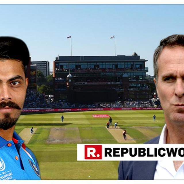 WORLD CUP | 'SURELY JADEJA PLAYS TODAY, INDIA WOULD BE DAFT TO PLAY HIM': MICHAEL VAUGHAN CONFUSES EVERYONE BEFORE NEW ZEALAND SEMIFINAL