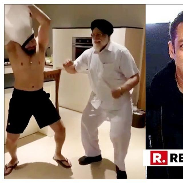 WATCH: SALMAN KHAN'S BODYGUARD SHERA'S DANCE WITH HIS FATHER HAS THE INTERNET CRACKING UP, 'BHARAT' ACTOR'S ON-SCREEN MOM BINA KAK REACTS