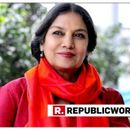 SHABANA AZMI RESPONDS TO CRITICISM OVER 'ANTI-NATIONAL' REMARK