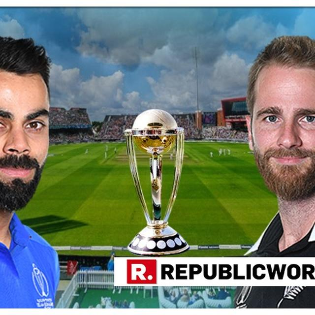 WORLD CUP: HERE'S WHAT WILL HAPPEN IF IT CONTINUES TO RAIN AT THE INDIA-NEW ZEALAND SEMIFINAL IN OLD TRAFFORD