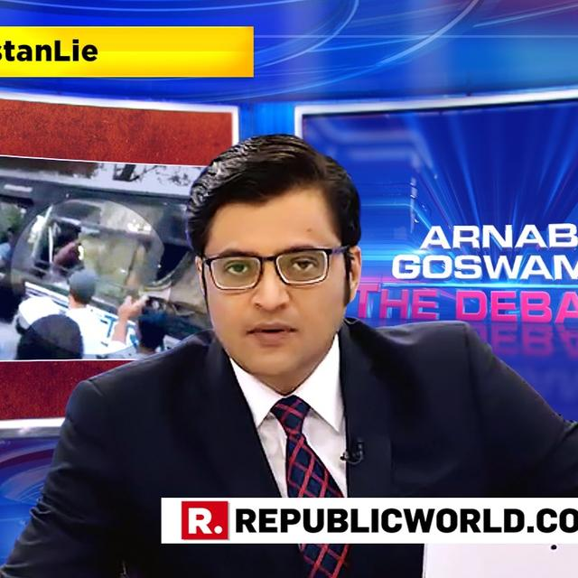 WATCH: 'WE KNOW WE'RE NOT THE MOB CAPITAL OF THE WORLD,' SAYS ARNAB IN A CHALLENGE TO THOSE PROPAGATING THE 'LYNCHISTAN' LIE