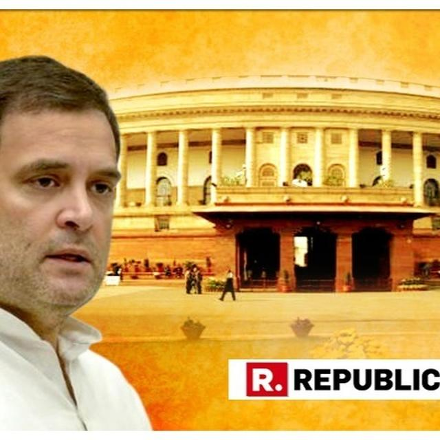 'HAVEN'T DEMANDED FRONT-ROW SEAT FOR RAHUL IN PARL': CONG