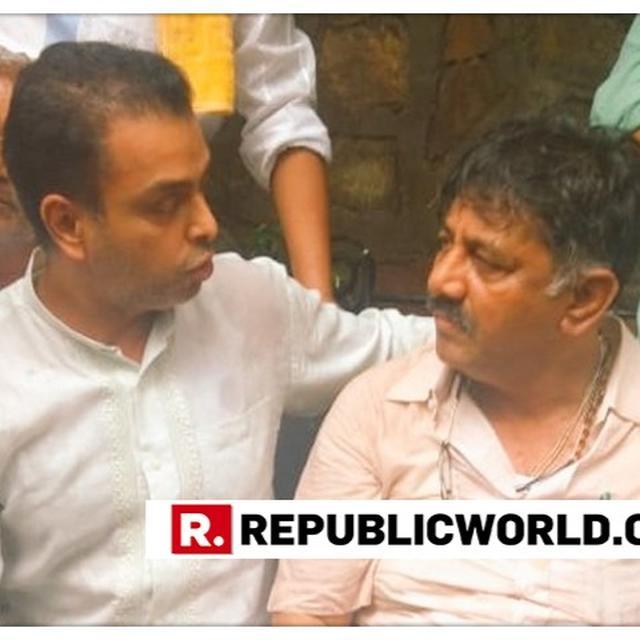 MILIND DEORA REACHES OUTSIDE KARNATAKA REBEL MLAS' MUMBAI HOTEL IN SUPPORT OF DK SHIVAKUMAR, ALLEGES BJP IS 'MISUSING ITS POWER'
