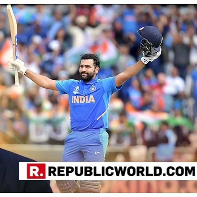 WORLD CUP: SACHIN TENDULKAR CREDITS ROHIT SHARMA'S MINDSET FOR HIS CONSISTENCY IN THE TOURNAMENT
