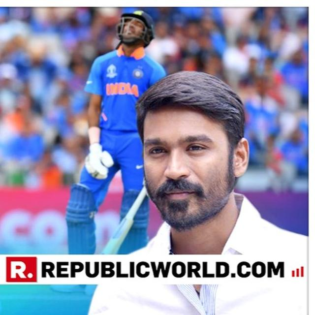 """""""BITS AND PIECES OF HOPE LEFT,"""" SAYS DHANUSH TAKING A DIG ON SANJAY MANJEREKAR AS INDIA CHASES SEMI FINAL SCORE VERSUS NEW ZEALAND"""
