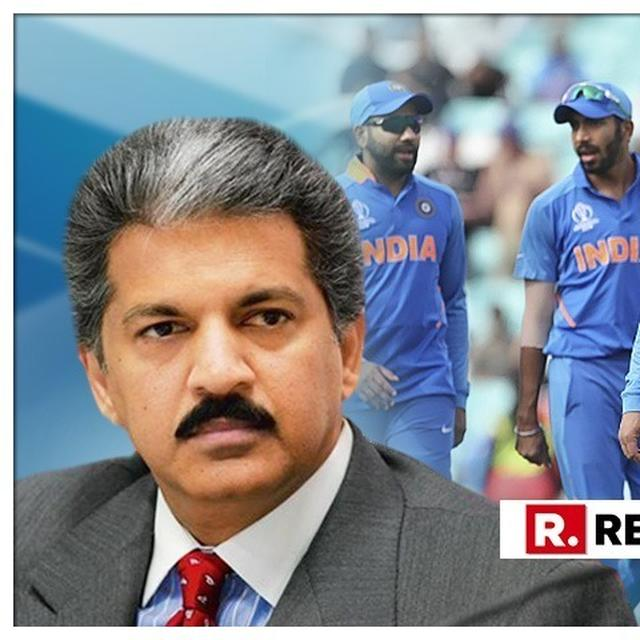 WE NEED AN INDIAN VERSION OF THE MOVIE 'HANGOVER': ANAND MAHINDRA REACTS AFTER TEAM INDIA EXITS THE WORLD CUP