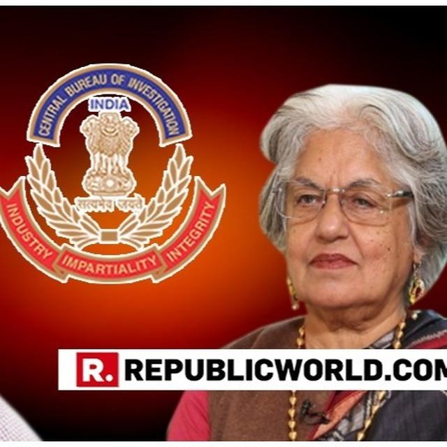 CBI CONDUCTS RAIDS AT LAWYERS COLLECTIVE AND RESIDENCE OF INDIRA JAISING & ANAND GROVER OVER FCRA COMPLAINT BY MHA