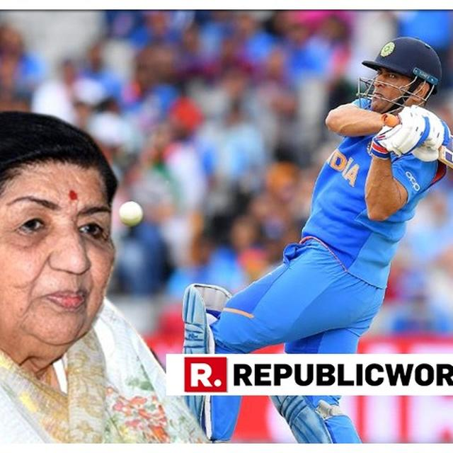 WORLD CUP | 'NAMASKAR MS DHONI JI...': LATA MANGESHKAR SENDS SPECIAL MESSAGE TO MSD & TELLS HIM TO NOT EVEN THINK ABOUT RETIREMENT