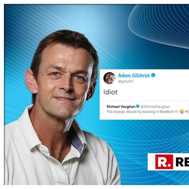 WORLD CUP: ADAM GILCHRIST JUST CALLED MICHAEL VAUGHAN AN 'IDIOT'. HERE'S WHY