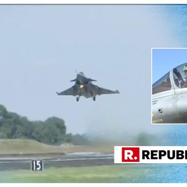 WATCH: IAF VICE CHIEF RKS BHADAURIA TAKES A SORTIE IN RAFALE, SAYS IT WOULD MAKE A POTENT COMBINATION WITH SU-30MKI AGAINST ENEMIES