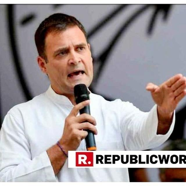 RAHUL GANDHI GETS BAIL IN A ADC BANK DEFAMATION CASE, ASKED TO PAY RS 15,000 SURETY BY AHMEDABAD COURT
