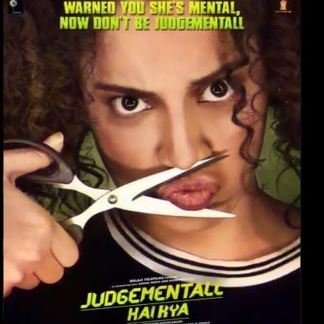 IS KANGANA RANAUT'S LATEST 'JUDGEMENTALL HAI KYA' POSTER A REFERENCE TO HER CONTROVERSIES? HERE'S EKTA KAPOOR'S VIEW