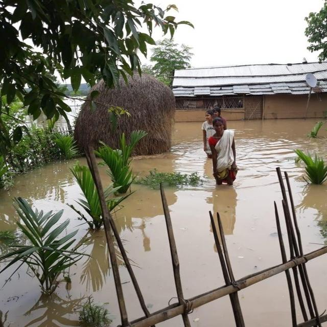 ASSAM FLOOD SITUATION WORSENS, ARMY CALLED IN