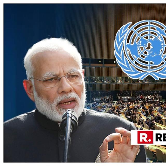 PM MODI TO MAKE FIRST US VISIT SINCE RE-ELECTION IN SEPTEMBER, WILL PARTICIPATE IN UNGA