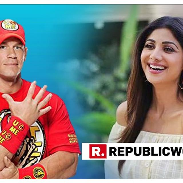 JOHN CENA JUST POSTED A 'STONE COLD SHILPA SHETTY KUNDRA' PICTURE AND IT'S MAKING NETIZENS GO CRAZY