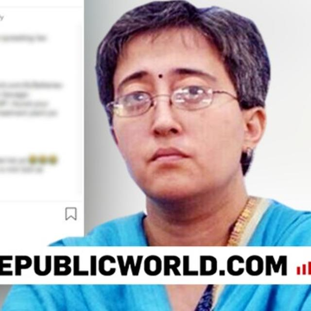 BIG FIGHT: AAP'S ATISHI CALLED OUT FOR 'FAKE' OKHLA SEWAGE TREATMENT PLANT PHOTO; 'FRAUD' SAYS BJP'S SHAZIA ILMI