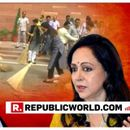 SCATHING: HEMA MALINI QUESTIONS OMAR ABDULLAH'S 'DIMAAG' FOR CRITICISING HER SWEEPING TECHNIQUE, SAYS 'WAS DOING IT TO INSPIRE'