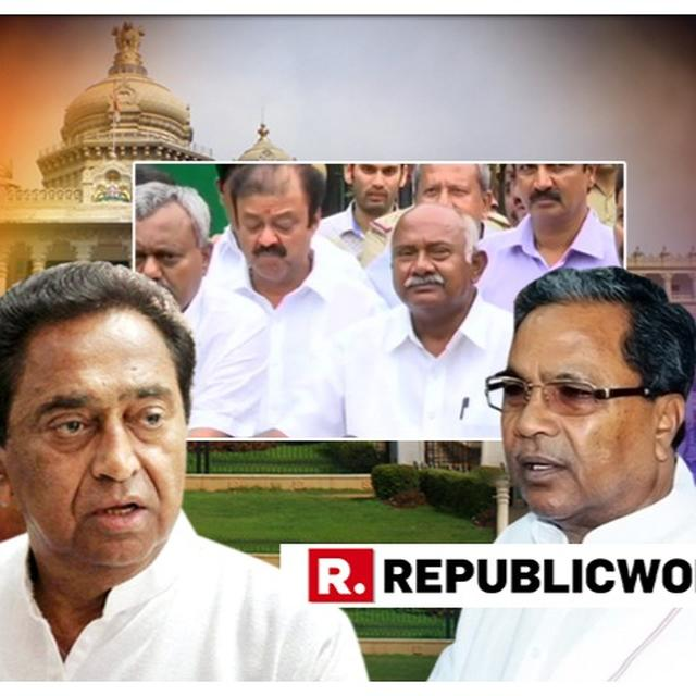 KARNATAKA CRISIS: NOW, CONGRESS RUSHES M.P CM KAMAL NATH TO BENGALURU, AS TRUST VOTE IN ASSEMBLY LOOMS