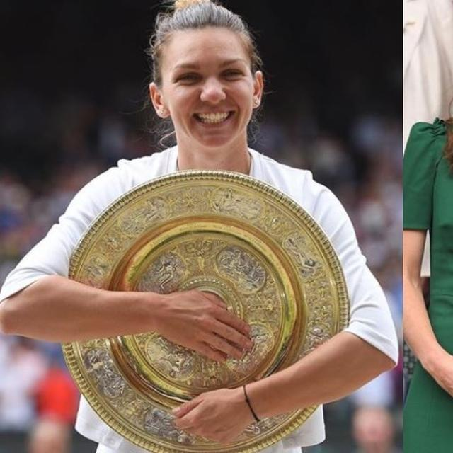 WIMBLEDON | CHAMPION SIMONA HALEP'S WISH COMES TRUE AS KATE MIDDLETON LAUDS HER 'INCREDIBLE GAME'