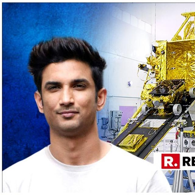 CHANDRAYAAN-2: SUSHANT SINGH RAJPUT CELEBRATES INDIA'S SECOND IMPENDING LUNAR MISSION, SAYS 'JUST CAN'T WAIT'