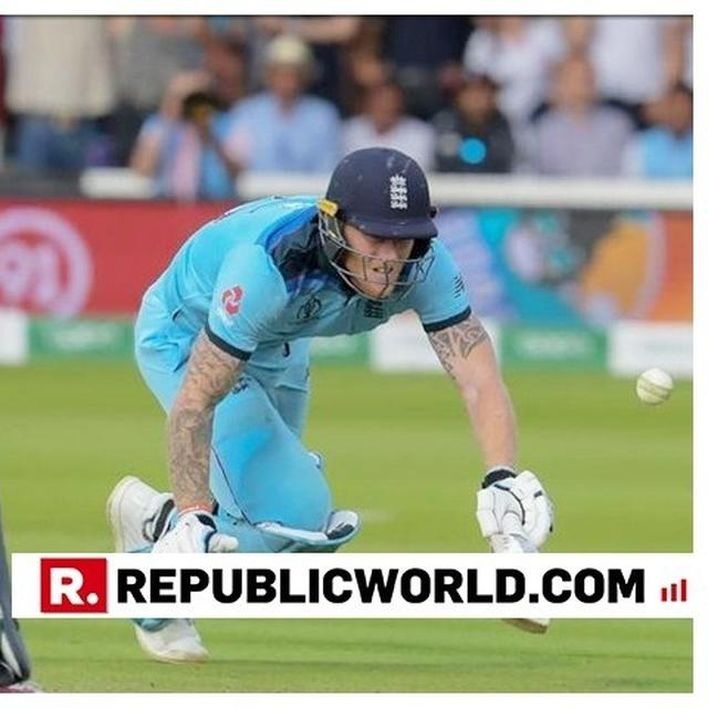 WORLD CUP   'BALL SHOULD'VE BEEN DEAD...': NETIZENS HAVE STRONG FEELINGS OVER BEN STOKES 6-RUN OVERTHROW WITH ENGLAND REQUIRING 9 FROM 3