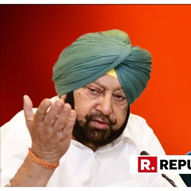 CAN'T HELP IF SIDHU DOESN'T WANT TO DO HIS JOB: AMARINDER