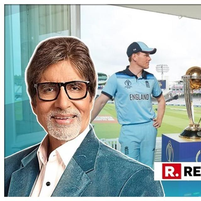 WORLD CUP: AMITABH BACHCHAN'S TAKE ON ICC RULES WILL LEAVE YOU IN SPLITS