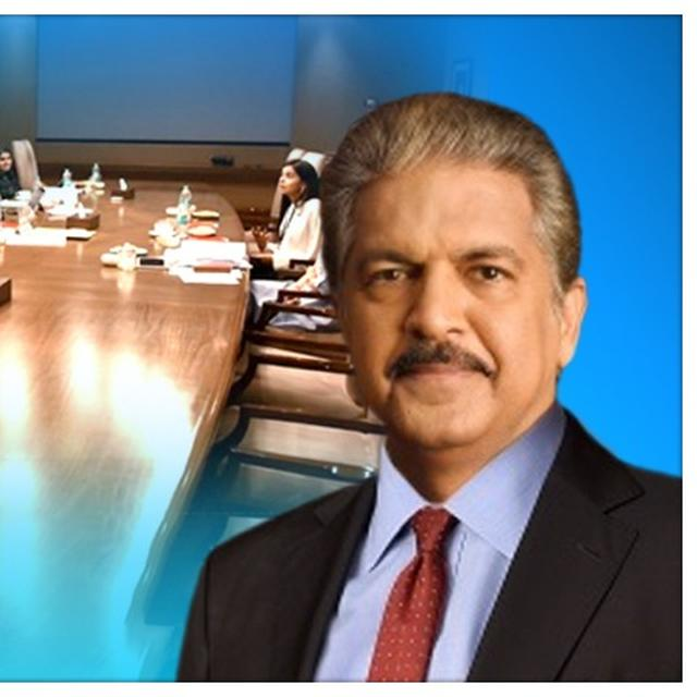 ANAND MAHINDRA BANS PLASTIC BOTTLES IN HIS BOARDROOMS AFTER BEING PRODDED BY A TWITTER USER
